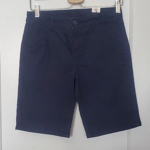 Justice Navy Blue Shorts size 16